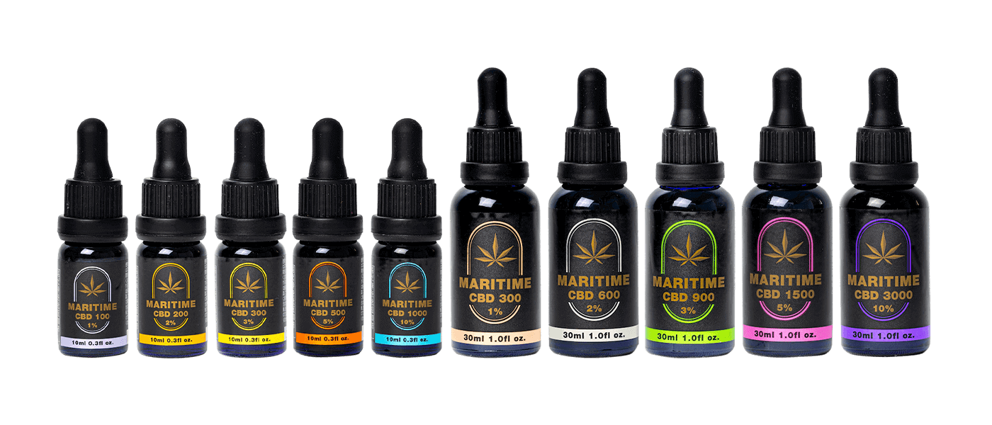 MARITIME CBD oil 10ml (5%)